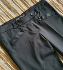 Ženske duge crne hlače