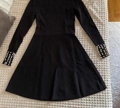 Zara crna MIDI haljina