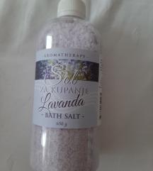 Sol za kupanje lavanda - aroma terapija
