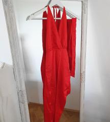 45% snižena crvena haljina