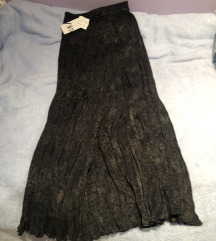 Zara duga suknja plisirana naborana XS