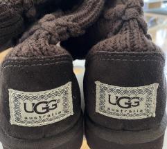 UGG Australia - smeđe pletene čizme