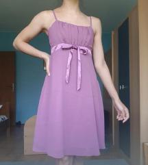 Lila/ljubičasta svečana haljina