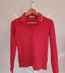 Polo crvena majica dugih rukava