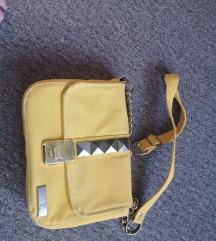 Lovely Bags žuta torba