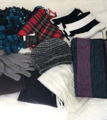 Šalovi, rukavice i kapa