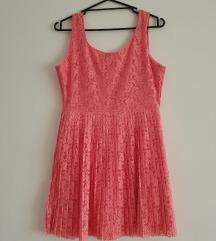 Kratka čipkana haljina (novo)