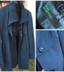 Rezz Samo danas 355kn💙 Novi Benetton kaput 42