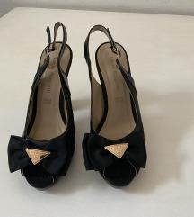 Laura Biagiotti crne sandale