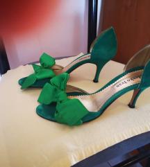 Ledenko sandale zelene