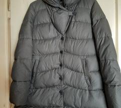 Armani Collezioni siva zimska jakna 38