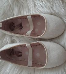 h&M bijele balerinke za djevojčice