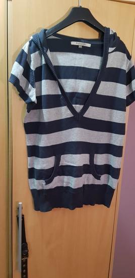 sivo plava majca