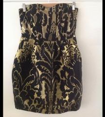 H&M jacquard haljina