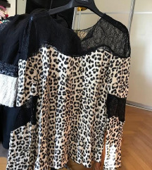 ZARA nova leopard bluza X SMALL