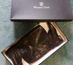 Massimo Dutti crne kozne cizme