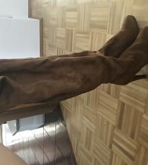 Duge smeđe čizme