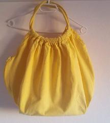 Žuta ceker torba 100% pamuk