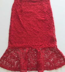 ZARA suknja sa čipkom