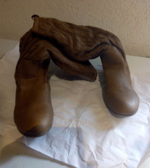 Čizme, smeđe, krzno 40