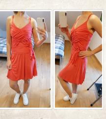 Narančasto roza haljina, vel. M/38