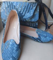 Komplet torbica i balerinke