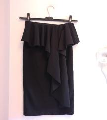 Suknja sa volanom