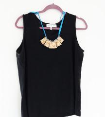 Nova majica šljokice+ogrlica