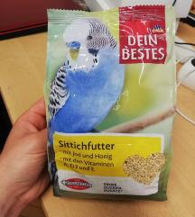 Hrana za ptice papigice