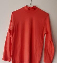 Ženska majica/rolka boje breskve