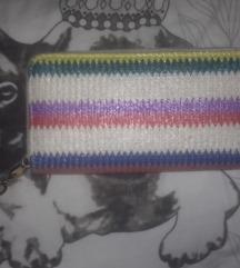 Veliki pleteni novčanik