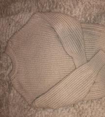 Pull&Bear bež pulover