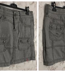 Esprit - 42 - Turn Mini Skirt