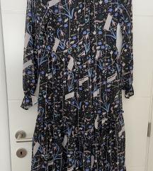 Midi cvjetna haljina, vel 36