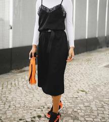 Duga haljina sa cipkom