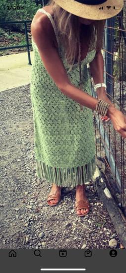 Zara haljina pletena