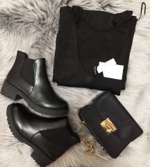LOT - haljina + gležnjače + torbica