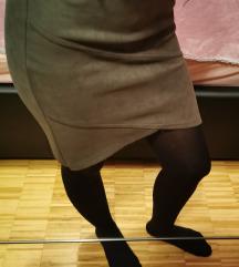 Mini suknja, uska