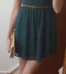 Zelena haljina H&M