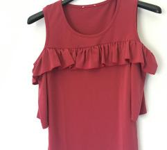 Majica/ roze boje jednom nošena