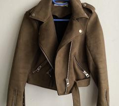 Zara smeđa jakna S