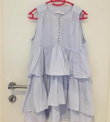 Zara plava haljinica