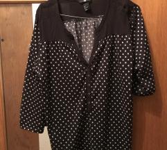 H&M točkasta majica/bluza