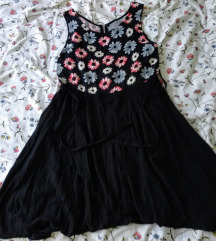 Asimetrična pamučna haljina