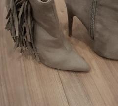 Brusena koža cizme