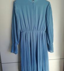 Nova plisirana plava haljina 🆕🆕🆕🆕🆕