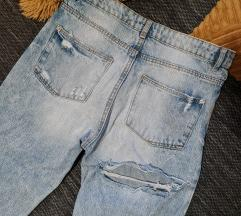 Zara ripped jeans, 36