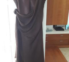 Smeđa haljina NOVO