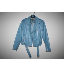 Zara basic kožna jakna
