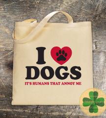 Eko Torba / Tote Bag / Love Dogs